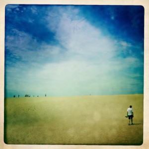 Summertime at Jockey Ridge, NC.
