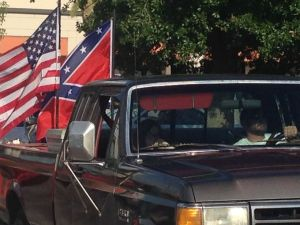 Image taken from www. wtsp. com of a similar parade/rally earlier this year.